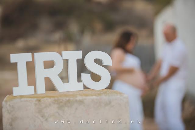 fotos de embarazo iris