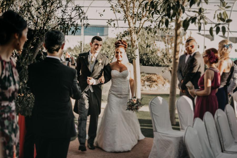 la ceremonia de boda