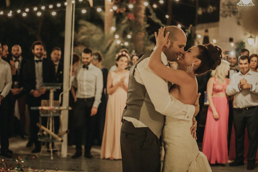 Baile de novios en villa maría bonita